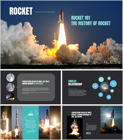Rocket Google Presentation Templates_40 slides