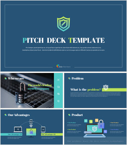 Security Company Pitch Deck PowerPoint Presentations Animated Slides_00