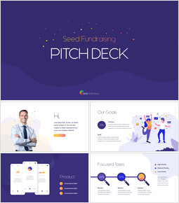 Seed Fundraising Pitch Deck Business plan Animation PPT Download_00