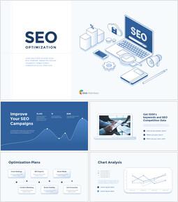 Presentazione dell\'ottimizzazione SEO Modelli di business PowerPoint_00