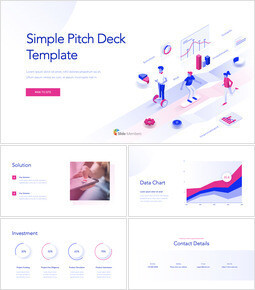 Simple Pitch Deck Template Keynote Windows_00