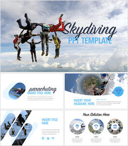 Skydiving Keynote Presentation Template_00