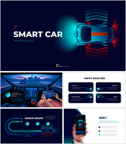 Presentaciones de PowerPoint Smart Car Pitch Deck Diapositivas animadas_00