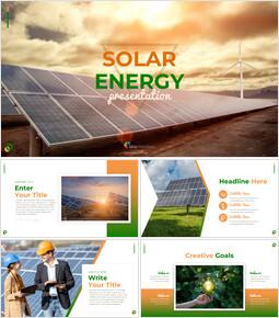 태양 에너지 프레젠테이션용 Google 슬라이드 테마_00