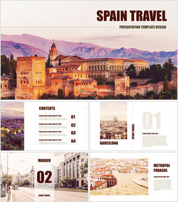 Spain Travel Ultimate Keynote Template_38 slides