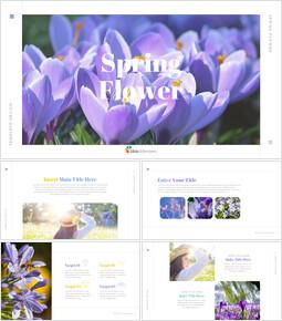 봄 꽃 편집이 쉬운 Google 슬라이드_00