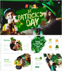 St. Patrick\'s Day Easy Google Slides Template_00