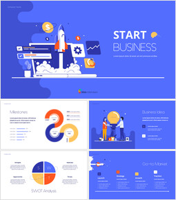Start Business Pitch Deck Best Animated Slides in PowerPoint_00