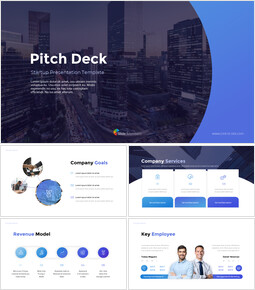 Startup Pitch Deck Animated Slides Presentation Design_00