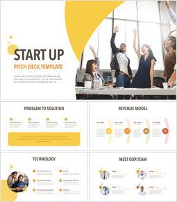 Startup Pitch Deck Circle Design Template Keynote_00