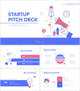 Startup Pitch Deck Flat Design Keynote Templates for Creatives_00