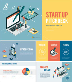 Startup Pitch Deck Presentation Animated Slides_00