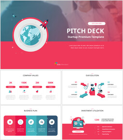 Startup Premium Flat Design Animated Template_00