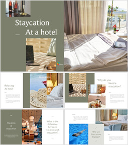 Staycation at a Hotel PPT Business_00