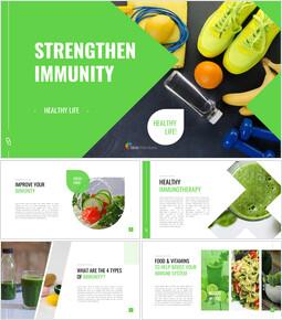Strengthen Immunity Easy Google Slides_00