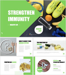 Strengthen Immunity Keynote Templates for Creatives_40 slides