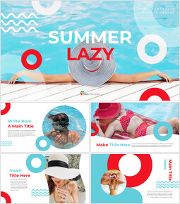 Summer Lazy Google Slides Template Diagrams Design_00