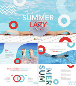 Summer Lazy Keynote Templates for Creatives_00