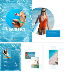 Summer Vacance Vertical Easy Google Slides_00