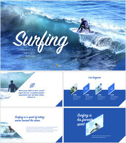 Surfing Theme Keynote Design_00