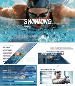 Swimming Keynote Templates_00