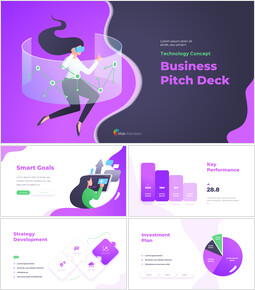 Technology Concept Business Pitch Deck Google presentation_00