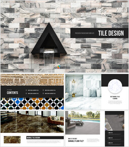 Tile Design PPT Background_00