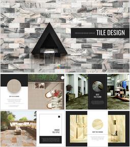 Tile Design Simple Slides Design_00