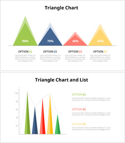 Triangle Chart Diagram Animated Slides_6 slides
