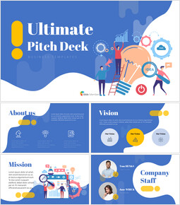 Ultimate Pitch Deck Presentation Animated Slides in PowerPoint_00