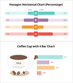 막대 차트 Infographic 다이어그램의 다양 한 유형_00