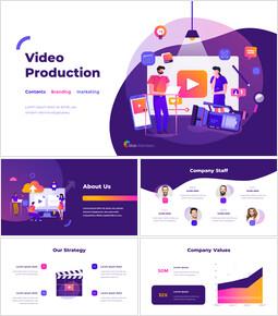 ビデオ制作グループの提案資料 PPTプレゼンテーションのサンプル_00