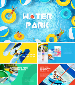 Water Park PowerPoint Presentation Examples_00