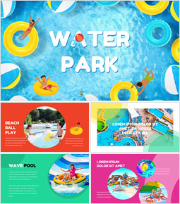 Water Park Simple Google Slides Templates_00