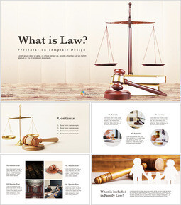 What is Law Multipurpose Presentation Keynote Template_41 slides