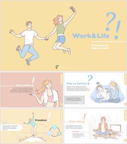 Work and Life Theme Keynote Design_00
