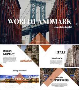 World Landmark Apple Keynote Template_40 slides
