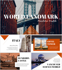 World Landmark Google Slides Template Diagrams Design_00