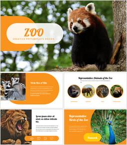 동물원 Google 슬라이드 프레젠테이션 템플릿_00