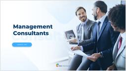 management Consultants Cover Template Design_2 slides