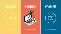 문제 및 해결책 슬라이드 덱 템플릿_00