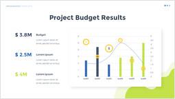 프로젝트 예산 결과 슬라이드 덱 템플릿_00