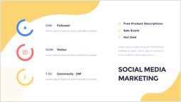소셜 미디어 마케팅 PPT 슬라이드 덱_00