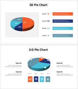 3D Pie Charts with Lists_00