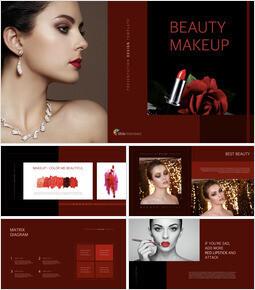 Beauty Makeup Ultimate Keynote Template_00