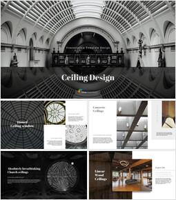 Ceiling Design Simple Google Slides_00