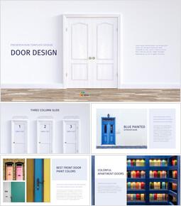 문 디자인 인터랙티브 Google 슬라이드_00
