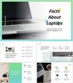 Facts about Laptop Business Presentation PPT_00