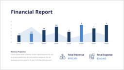 재무 보고서 PPT 슬라이드_00