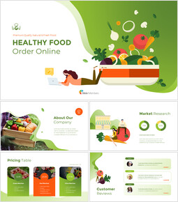 Healthy Food Order Online PowerPoint to Google Slides_00